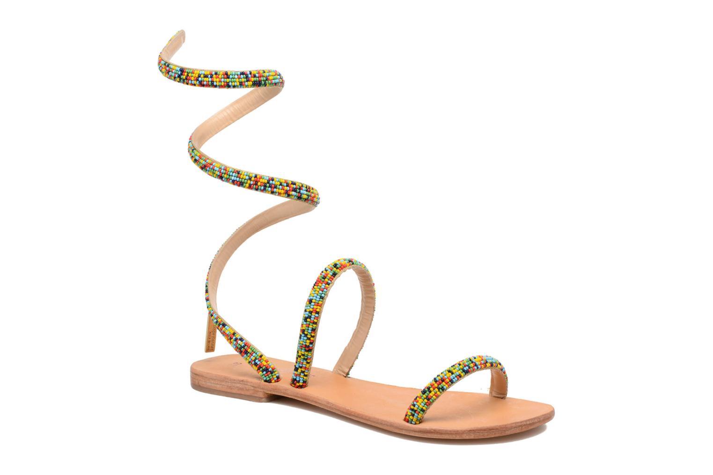 Sandales et nu-pieds Les Tropéziennes par M Belarbi Olga 2 Multicolore vue détail/paire