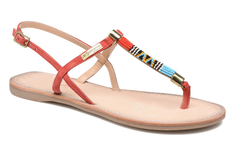 Sandaler Les Tropéziennes par M Belarbi Odelia Rød detaljeret billede af skoene
