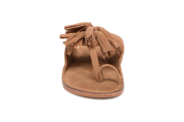 Mules & clogs Les Tropéziennes par M Belarbi Opium Brown model view