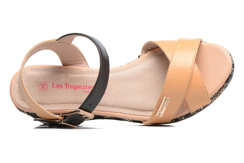 Sandali e scarpe aperte Les Tropéziennes par M Belarbi Gatiela Beige immagine sinistra
