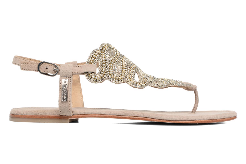 Sandales et nu-pieds Les Tropéziennes par M Belarbi Jaca Beige vue derrière