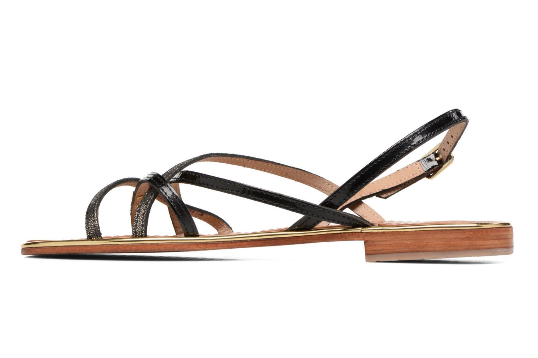 Sandali e scarpe aperte Les Tropéziennes par M Belarbi Belle Nero immagine frontale