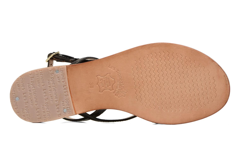 Sandali e scarpe aperte Les Tropéziennes par M Belarbi Belle Nero immagine dall'alto