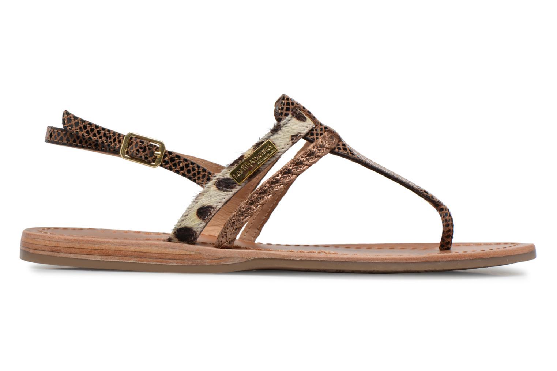 Sandals Les Tropéziennes par M Belarbi Baraka Bronze and Gold back view