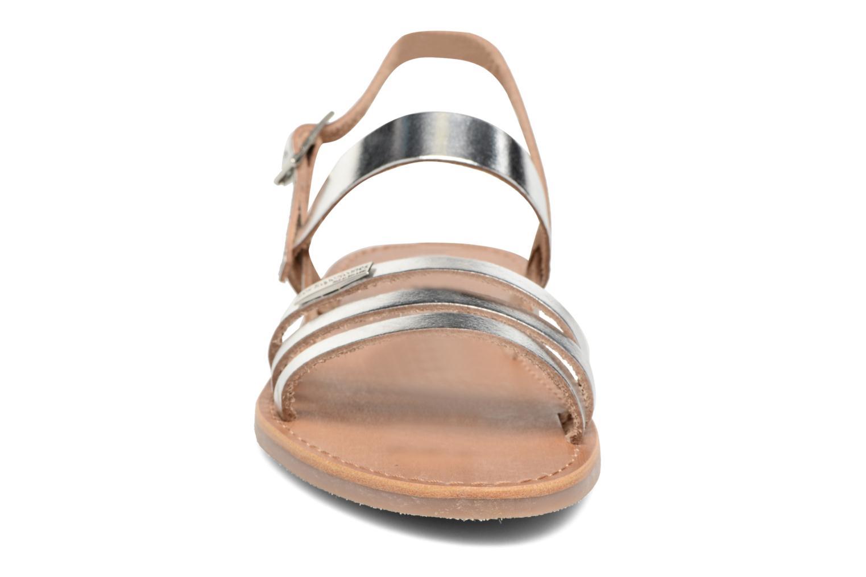 Sandali e scarpe aperte Les Tropéziennes par M Belarbi Baal Argento modello indossato
