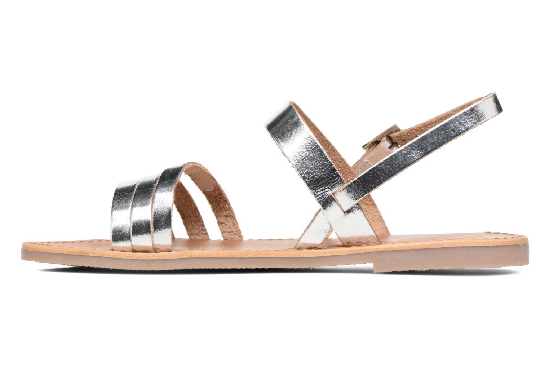 Sandals Les Tropéziennes par M Belarbi Baal Silver front view