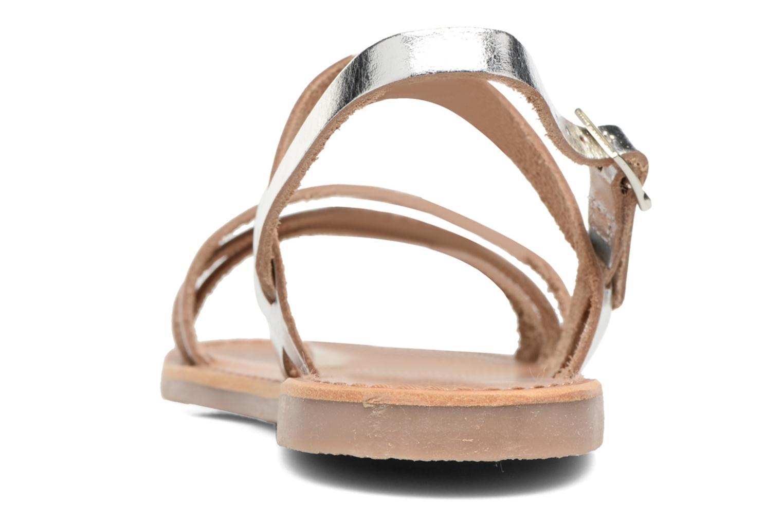 Sandali e scarpe aperte Les Tropéziennes par M Belarbi Baal Argento immagine destra