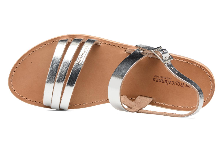 Sandali e scarpe aperte Les Tropéziennes par M Belarbi Baal Argento immagine sinistra