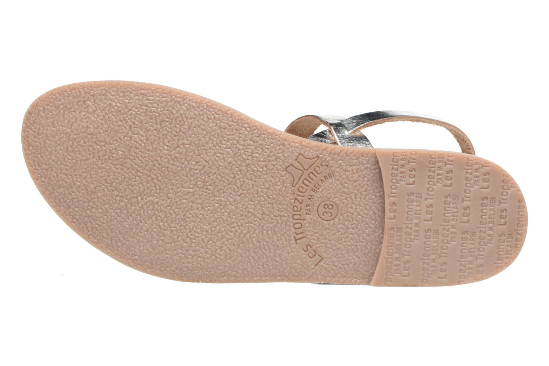 Sandali e scarpe aperte Les Tropéziennes par M Belarbi Baal Argento immagine dall'alto