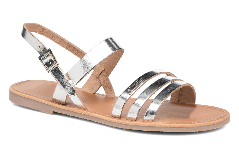 Sandals Les Tropéziennes par M Belarbi Baal Silver detailed view/ Pair view