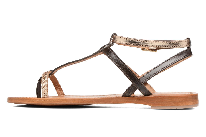 Sandales et nu-pieds Les Tropéziennes par M Belarbi Hilatres Marron vue face