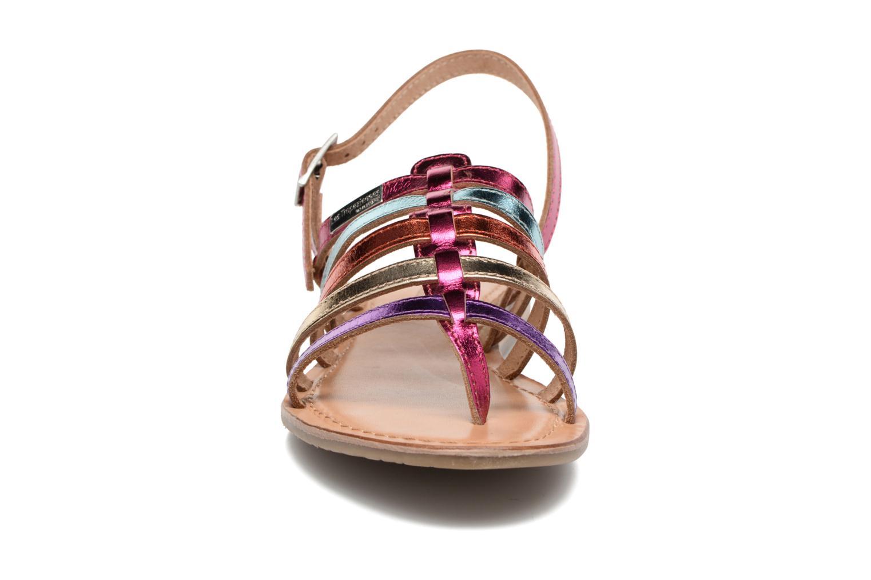Sandales et nu-pieds Les Tropéziennes par M Belarbi Heripo Multicolore vue portées chaussures