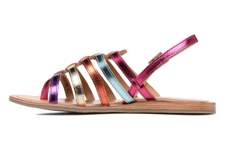 Sandales et nu-pieds Les Tropéziennes par M Belarbi Heripo Multicolore vue face