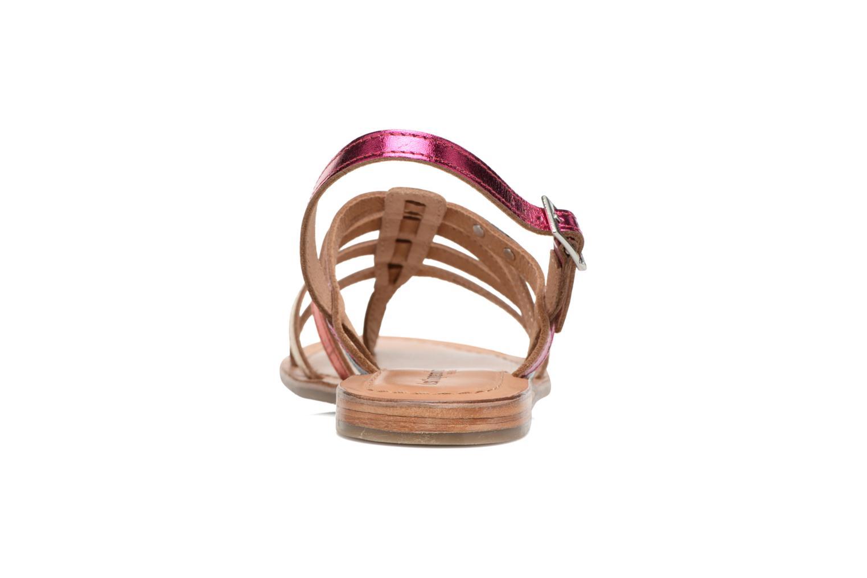 Sandales et nu-pieds Les Tropéziennes par M Belarbi Heripo Multicolore vue droite