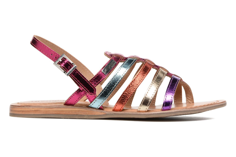 Sandales et nu-pieds Les Tropéziennes par M Belarbi Heripo Multicolore vue derrière