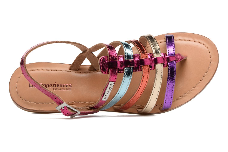 Sandales et nu-pieds Les Tropéziennes par M Belarbi Heripo Multicolore vue gauche