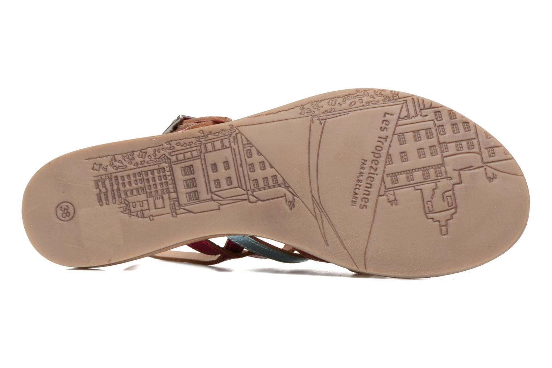 Sandales et nu-pieds Les Tropéziennes par M Belarbi Heripo Multicolore vue haut