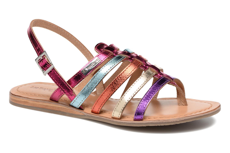 Sandales et nu-pieds Les Tropéziennes par M Belarbi Heripo Multicolore vue détail/paire