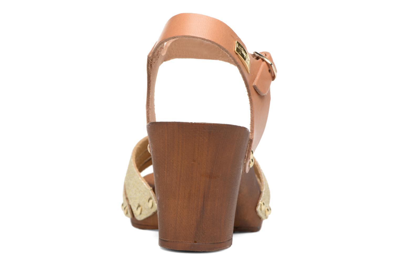 Sandales et nu-pieds Les Tropéziennes par M Belarbi Venise Or et bronze vue droite