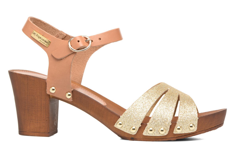Sandales et nu-pieds Les Tropéziennes par M Belarbi Venise Or et bronze vue derrière