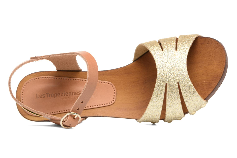 Sandales et nu-pieds Les Tropéziennes par M Belarbi Venise Or et bronze vue gauche