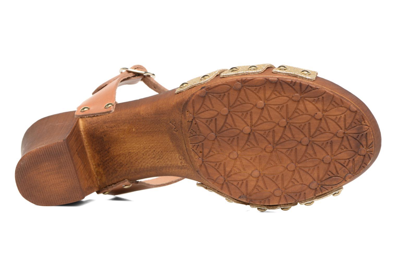 Sandales et nu-pieds Les Tropéziennes par M Belarbi Venise Or et bronze vue haut