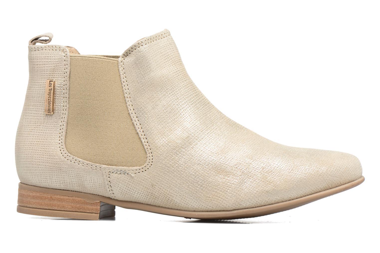 Bottines et boots Les Tropéziennes par M Belarbi Panama Beige vue derrière