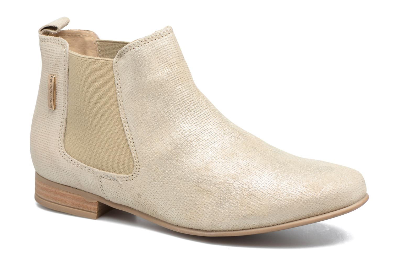 Bottines et boots Les Tropéziennes par M Belarbi Panama Beige vue détail/paire