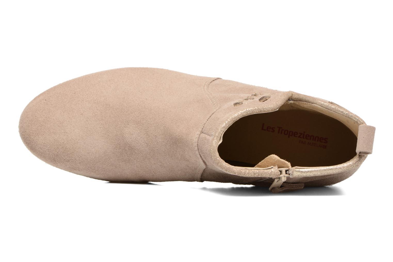 Zapatos de hombres y mujeres de moda casual Les Tropéziennes par M Belarbi Platine (Beige) - Botines  en Más cómodo