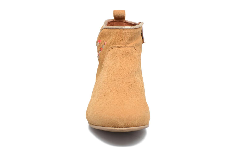 Los últimos zapatos de hombre y mujer Les Tropéziennes par M Belarbi Platine (Marrón) - Botines  en Más cómodo