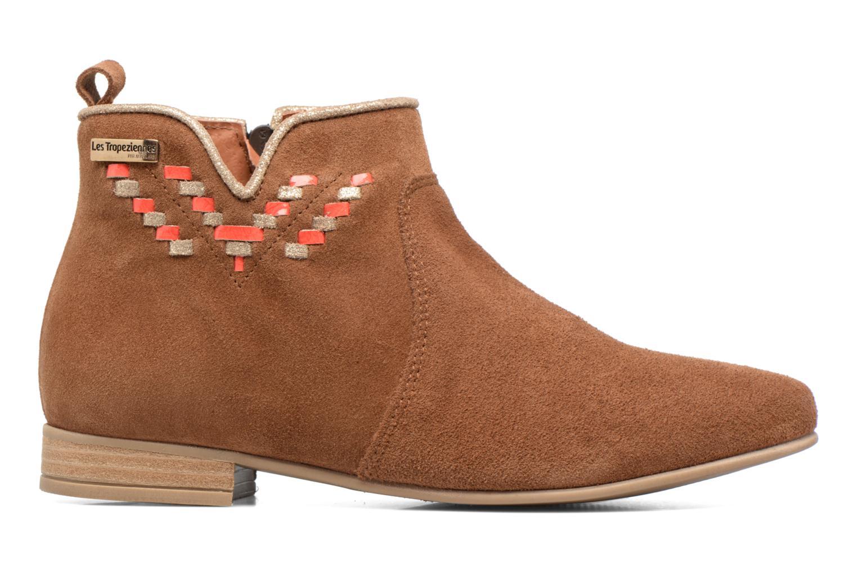 Bottines et boots Les Tropéziennes par M Belarbi Platine Marron vue derrière