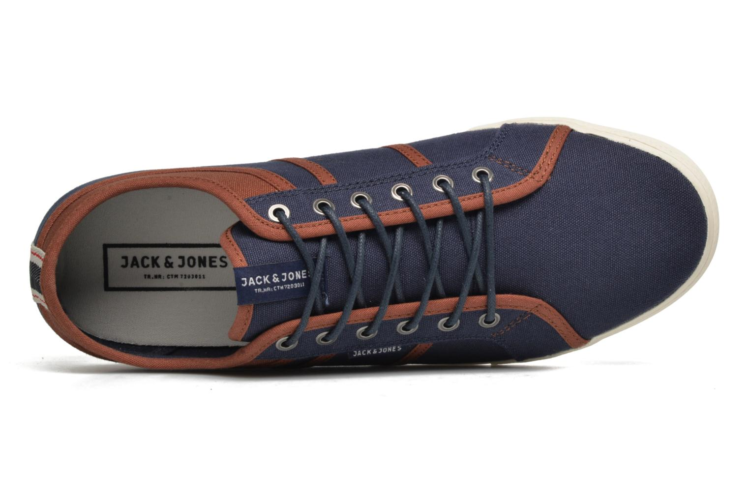 Trainers Jack & Jones JFW Ross Blue view from the left