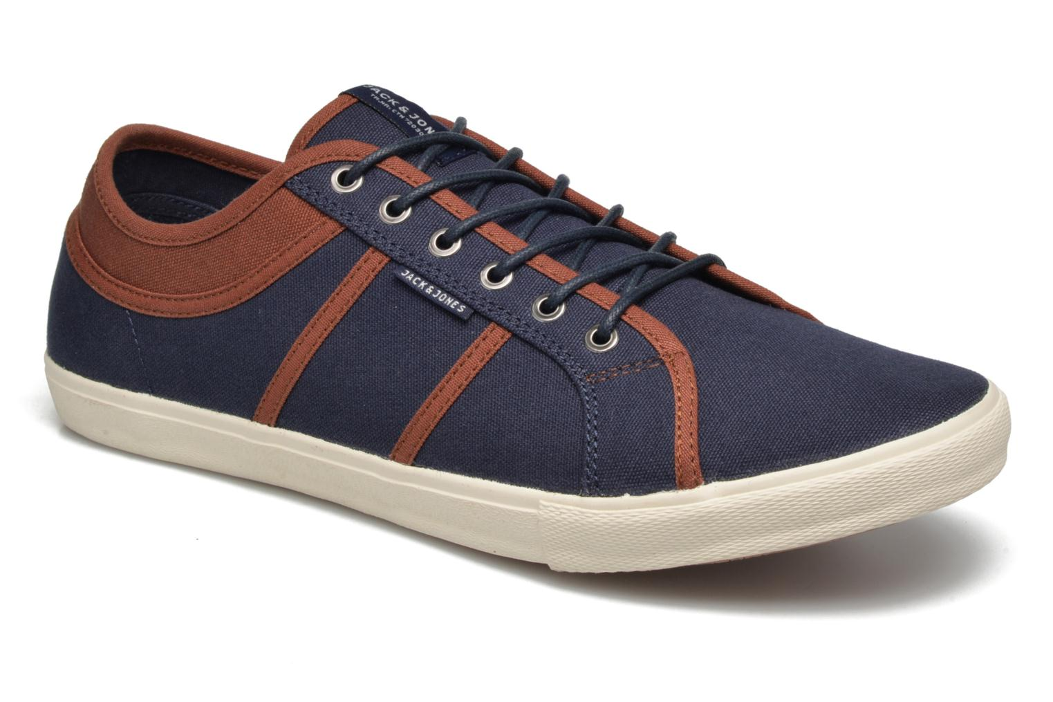 Trainers Jack & Jones JFW Ross Blue detailed view/ Pair view
