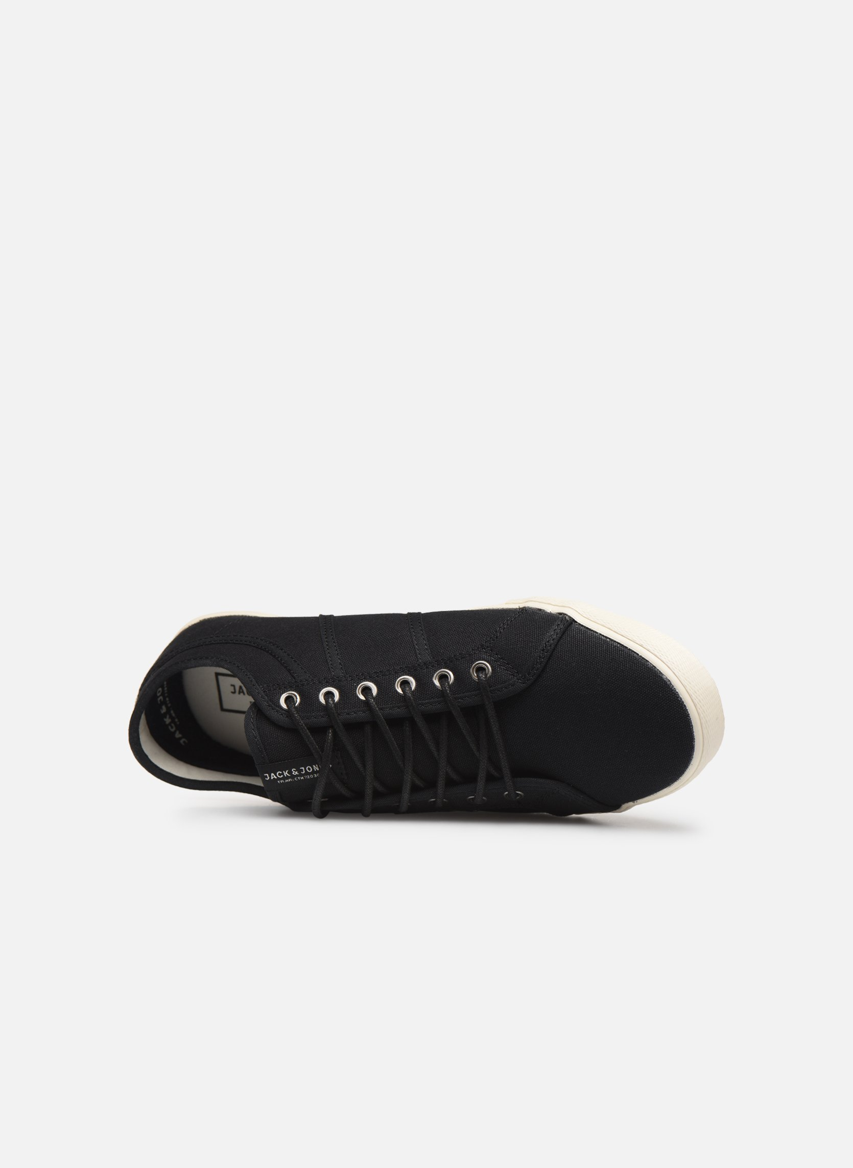 Trainers Jack & Jones JFW Ross Black view from the left