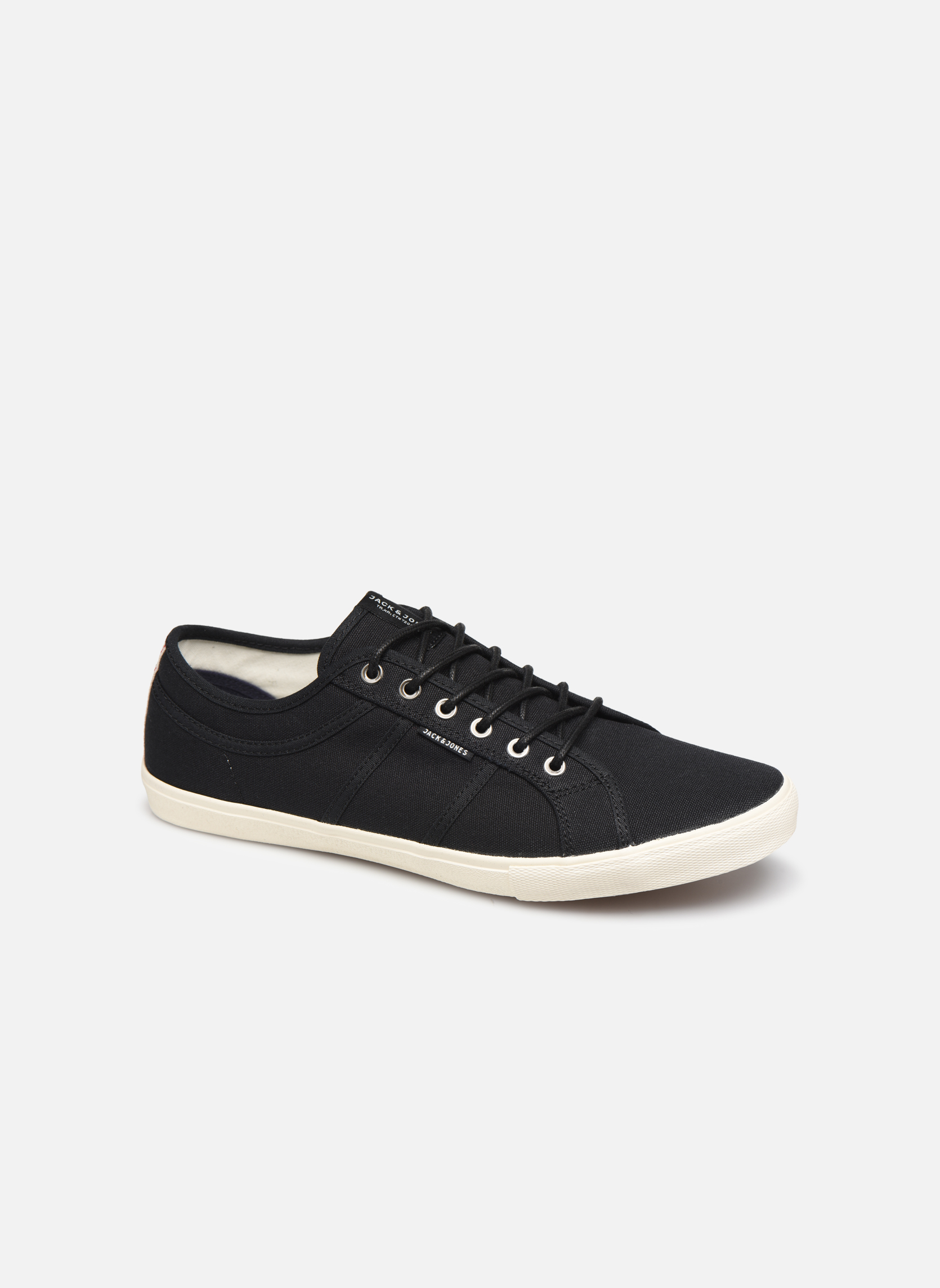 Trainers Jack & Jones JFW Ross Black detailed view/ Pair view