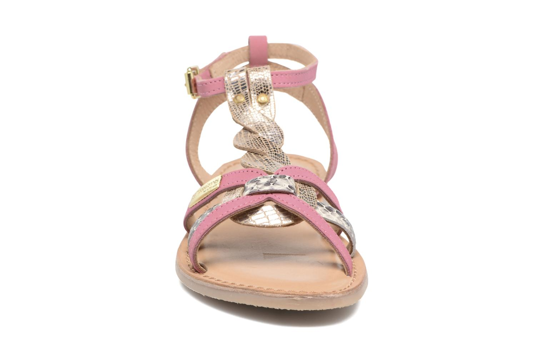 Sandali e scarpe aperte Les Tropéziennes par M Belarbi Badiane Rosa modello indossato