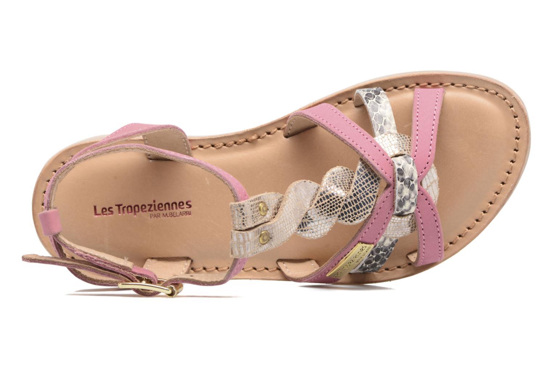 Sandali e scarpe aperte Les Tropéziennes par M Belarbi Badiane Rosa immagine sinistra