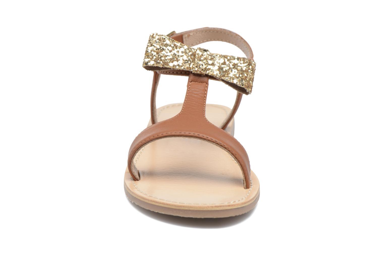 Sandales et nu-pieds Mellow Yellow Mnballydolly Marron vue portées chaussures