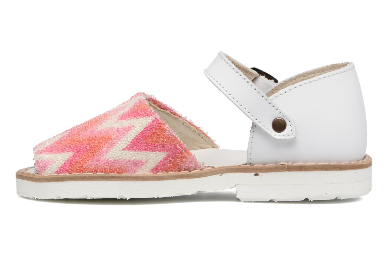 Sandales et nu-pieds MINORQUINES Frailera 2 Rose vue face