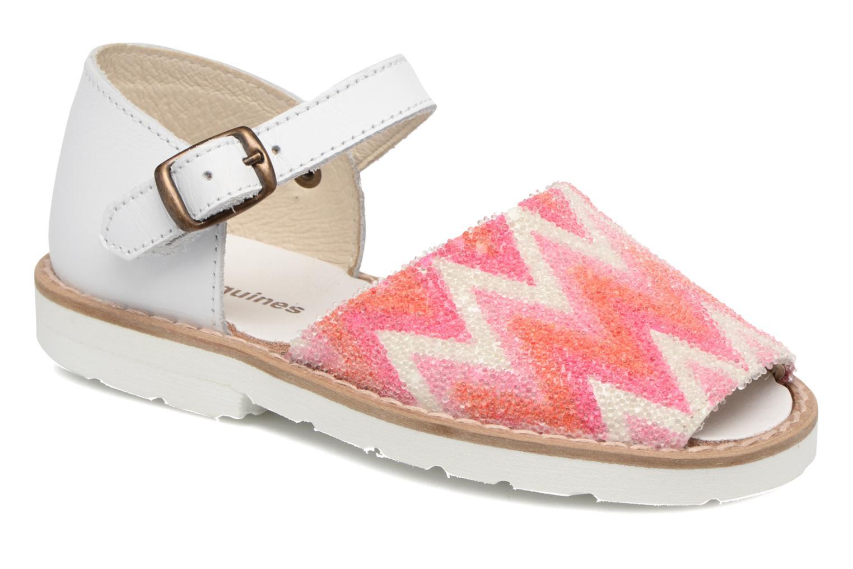 Sandales et nu-pieds MINORQUINES Frailera 2 Rose vue détail/paire