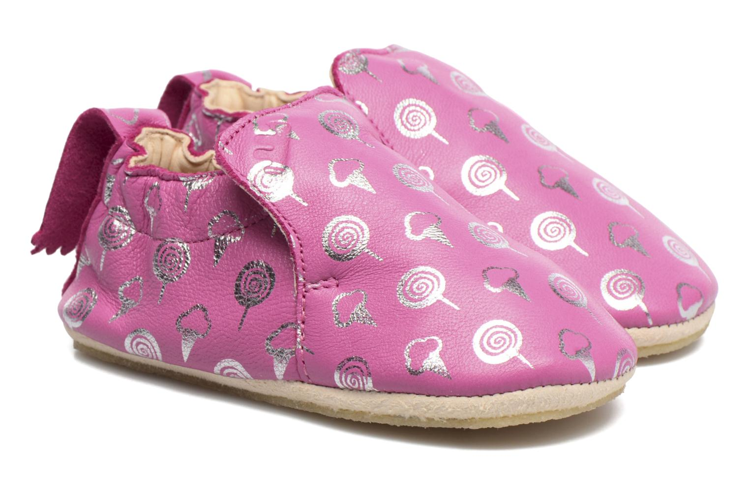 Chaussons Easy Peasy Blublu Sweety Rose vue portées chaussures