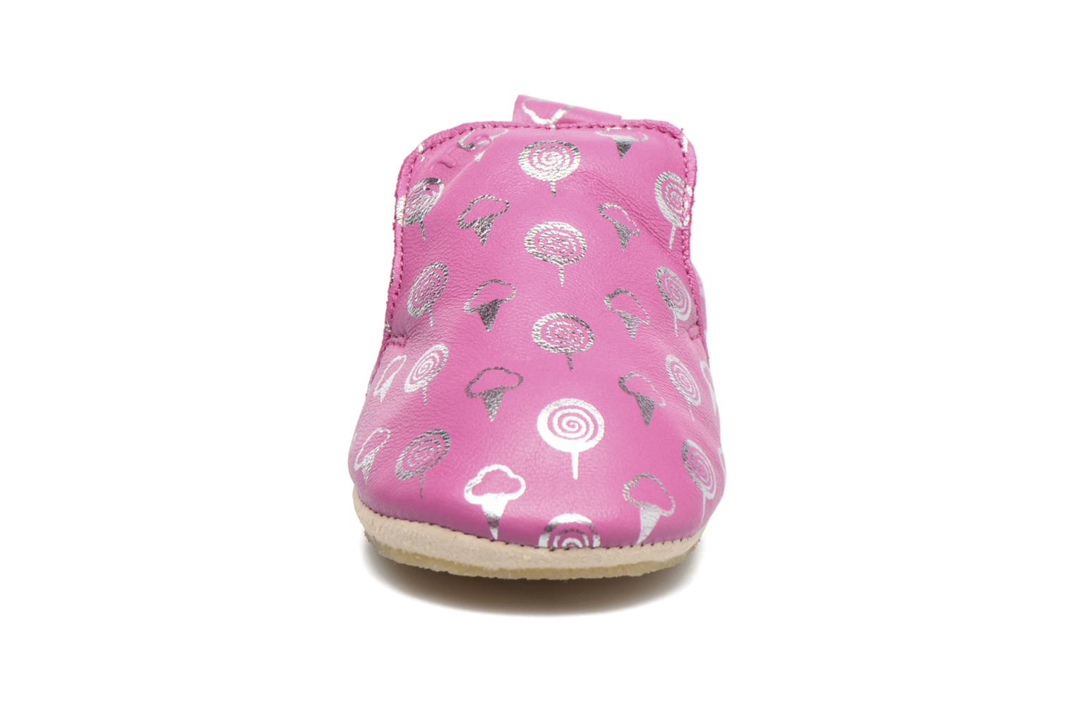 Chaussons Easy Peasy Blublu Sweety Rose vue face