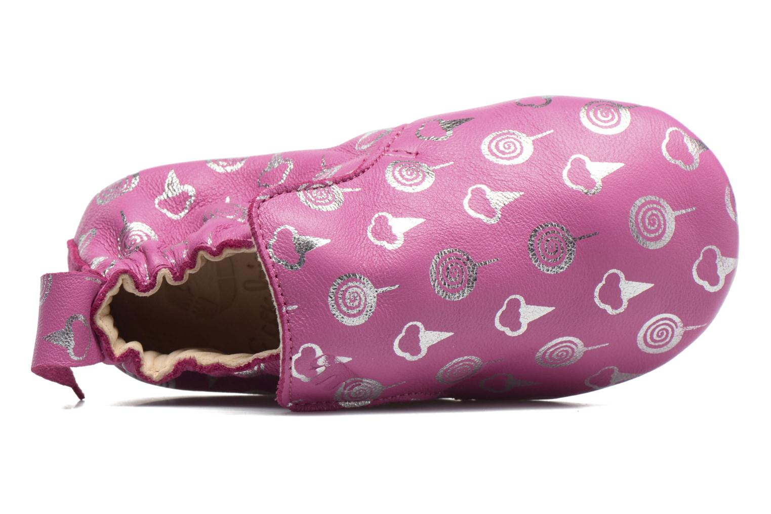 Chaussons Easy Peasy Blublu Sweety Rose vue haut