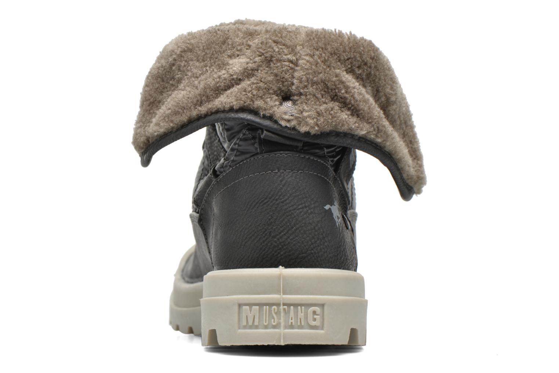 Bottines et boots Mustang shoes Amalia Gris vue droite