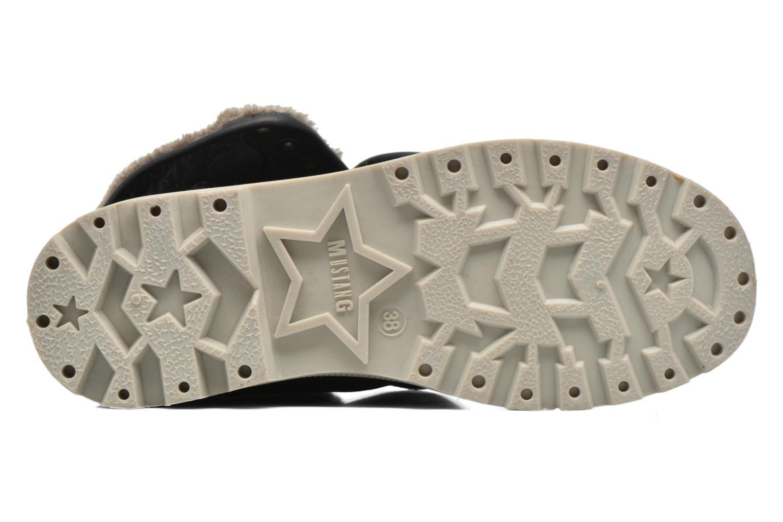 Bottines et boots Mustang shoes Amalia Gris vue haut