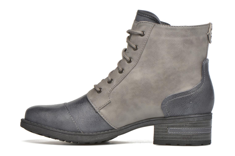 Stiefeletten & Boots Mustang shoes Axelle grau ansicht von vorne