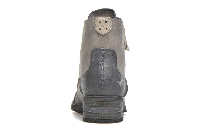 Bottines et boots Mustang shoes Axelle Gris vue droite