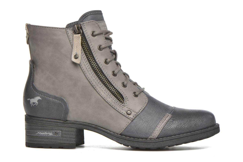 Stiefeletten & Boots Mustang shoes Axelle grau ansicht von hinten