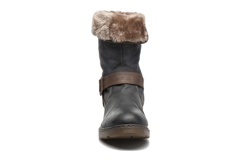 Bottines et boots Mustang shoes Bridget Gris vue portées chaussures