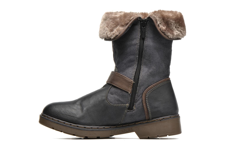 Bottines et boots Mustang shoes Bridget Gris vue face